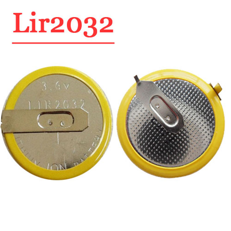 Free Shipping  Battery For Bmw Remote Key LIR2032 TYpe 5pcs/lot