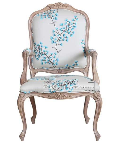 Online Shop Spot American country antique French chairs made of solid wood  handrails book cafe chair old chair with neoclassical | Aliexpress Mobile - Online Shop Spot American Country Antique French Chairs Made Of