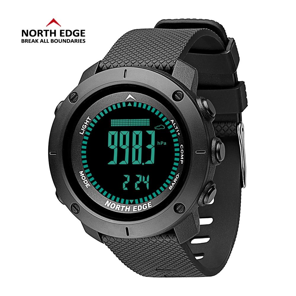 D'origine NorthEdge Numérique Smart Watch 50 m Étanche Escalade Natation Multi-fonction LED Relogio Sport En Plein Air Montres
