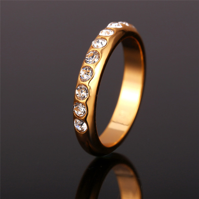 Party Gift Engagement Ring Wedding Bands R369