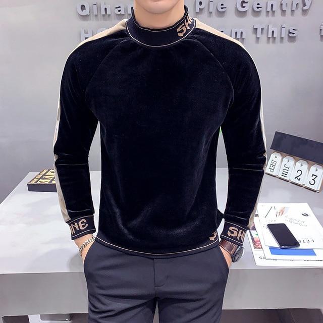 HIgh Fashion Velvet Sweatshirts 2