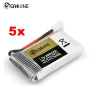5X Eachine 3 7V 1S 600mah 50C Lipo Battery For Eachine QX90 QX95 QX80 QX70 FB90