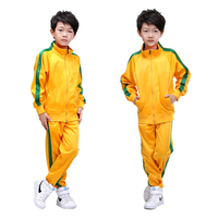 New Kids Running Sets Uniforms Kits Football Jerseys Sets Boys Compression Runing Pants Shirts Training Skinny