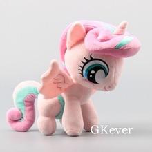 """Мультяшная фигурка милых лошадей, сердцебиение, мягкая плюшевая игрушка, милые мягкие животные, куклы, подарок на день рождения, 1"""", 25 см"""