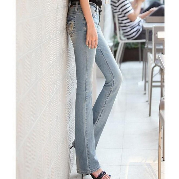 Popular Womens Skinny Flare Jeans-Buy Cheap Womens Skinny Flare ...