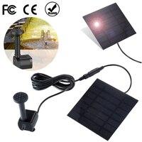 200L/H 태양 강화 된 분수 워터 펌프 정원 미니어처 플로팅 분수 태양 직접 드라이브 수족관 잠수정 워터 펌프