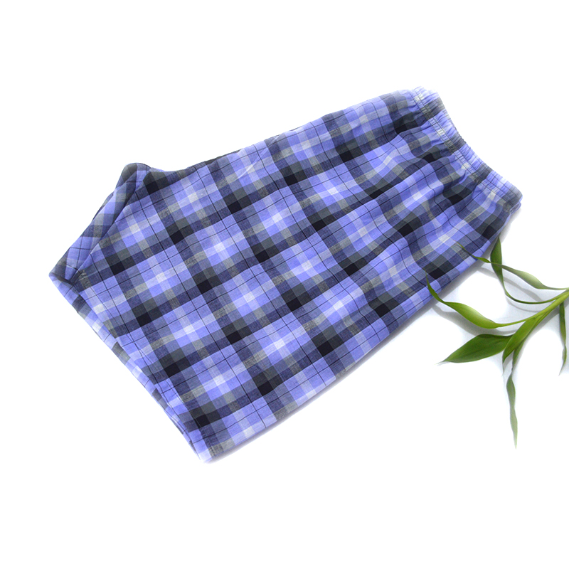 Men's Sleep & Lounge Underwear & Sleepwears 100% Cotton Summer Men Sleep Bottoms Man Shorts Pajamas Shorts Man Sleepwear Pants Pajamas Men At-home Sleep Shorts High Safety Amicable 3pcs /lot