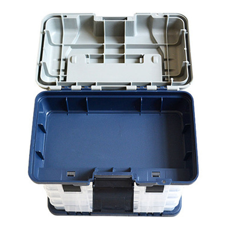 5 camadas pp abs plastico caixa de pesca lidar com caixa pesca carpa ferramentas pesca acessorios