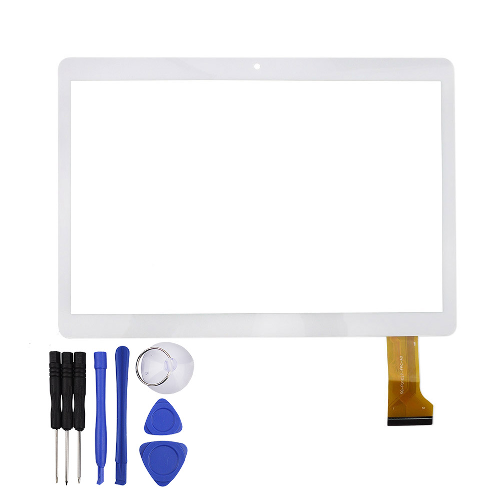 10.5 Inch White Touch Screen for MGLCTP-90894 RX18.TX28 Tablet Panel Glass Sensor Digitizer Replacement 222x156mm original t950s i960 mglctp 90894 mtk6592 32g t950s 3g tablet pc touch screen digitizer panel repair
