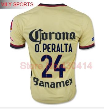 4b367f3b547 Camisetas De Futbol 15 16 Soccer Jerseys Oribe Peralta Dario Benedetto  15/16 Club America 15/16 Home Jersey Away Maillot De Foot