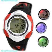 Цифровые наручные часы alexis с датой и цветным сигналом заднего