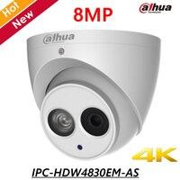 8MP English POE Dahua IP Camera IPC HDW4830EM AS 4mm Fixed Lens IR Distance 50m 8MP