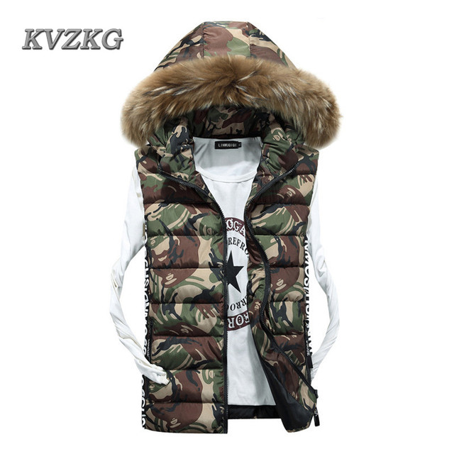 Chalecos Mujer Limited Kvzkg Winter Women Vest Cotton Warm Coat Camouflage  Outerwear 2017 The Explosion Military Style Women s 74ecb56e34f6