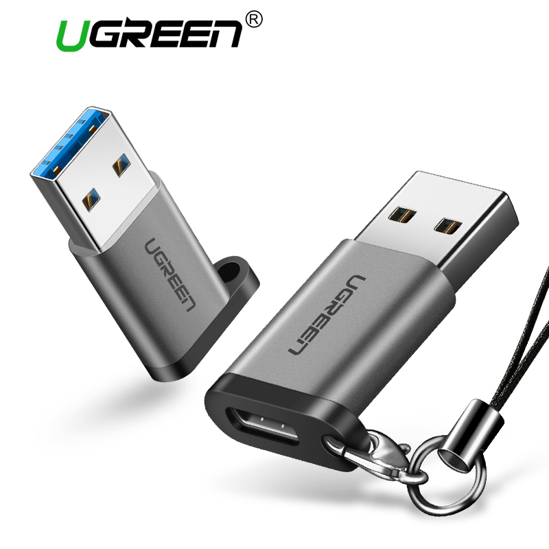 Ugreen USB C Adapter USB A 3.0 Male to USB 3.1 Type C Female Connector Type-c Adapter for Samsung S9 S8 Huawei P10 P20 USB C Hub