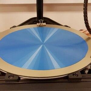 Энергетический Новый 3d принтер, пластина для 3D-принтера, Круглый пружинный стальной лист, применяется PEI Dia 200 мм 220 мм 240 мм, росток Delta Kossel