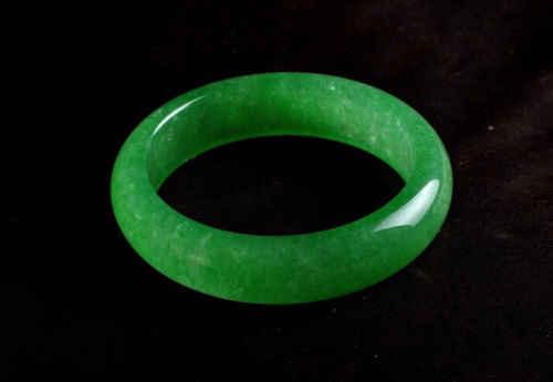 Koraba Fine Jewelry chiński naturalny piękny szmaragdowy zielony nefryt Jade bransoletka darmowa wysyłka