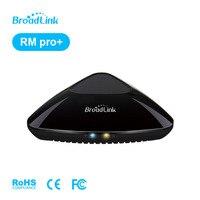 Yeni Broadlink RM PRO + RM33 Evrensel Akıllı Uzaktan Kumanda WiFi IOS Android Telefon Için + IR + RF Anahtarı akıllı Ev Otomasyonu