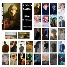 KPOP EXO BAEKHYUN Album SOLO UN Villaggio Self Made di Carta Carta di Lomo Photo Card Poster Tesserino Ventole Regalo Collezione(China)