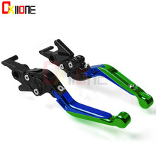 цена на Motorcycle Accessories CNC aluminum adjustable Motorcycle brake clutch levers For Honda MSX125 MSX 125 2014-2017 2015 2016