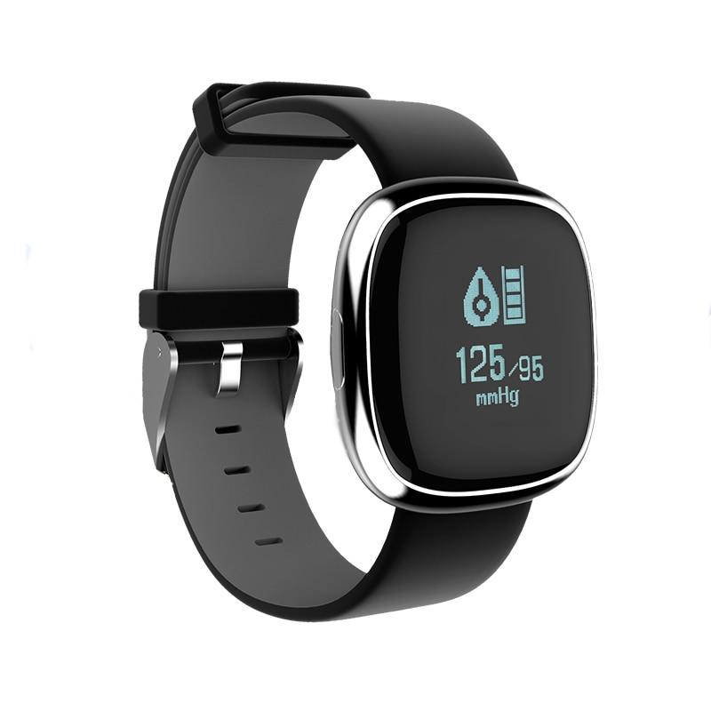 Smart Band P2 vererõhu südame löögisageduse monitor Smart käevõru Pedomeeter Smart Fitness Tracker Android IOS nutitelefonidele