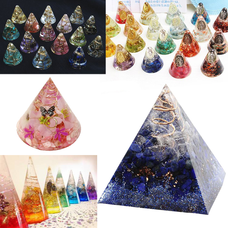 1PC pyramid Craft DIY Transparent UV ResinepoxySilicone Combination Molds for DIY Making Finding Accessories Jewelry in Jewelry Tools Equipments from Jewelry Accessories