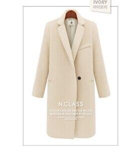 Mlxslky New Tissu Beige Hiver Mince Manteau Ms Inside Long Automne Inside Insi Pink red beige Drap Femmes Cotton red Laine De Dame Chaud noir black qqzr6