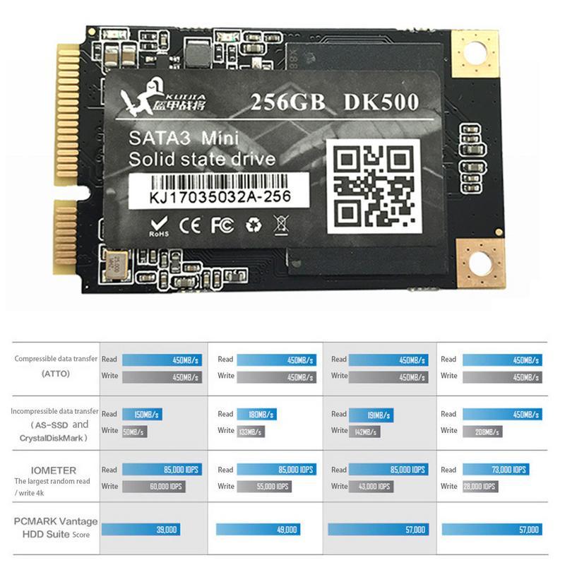 Vaseky 256 gb Da 1.8 Pollici Mini MSATA3 Solid State Drive Per Notebook SSD Gioco di Accelerazione MSATA SSD Hard Drive Vaseky MSATA 256 gb SSD