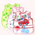 Baby Bibs Baberos Bebes Waterproof EVA Toddler Scarf Bibs Cute Cartoon Burp Cloths Feeding Care Baby Bibs Boys Girls Infants