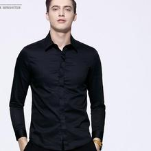 Formal occasions men's shirt style high quality wedding the groom's best man shirt handsome business men's shirts