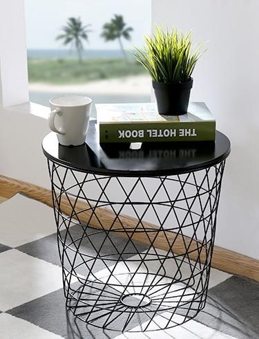 Beistelltisch metall draht  Online-Shop Moderne Minimalismus Europa Lagerung Beistelltisch ...