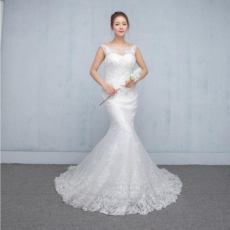 Sheath Wedding Dresses 2019: Elegent Wedding Dresses 2019 Plus Dress Wedding Gowns