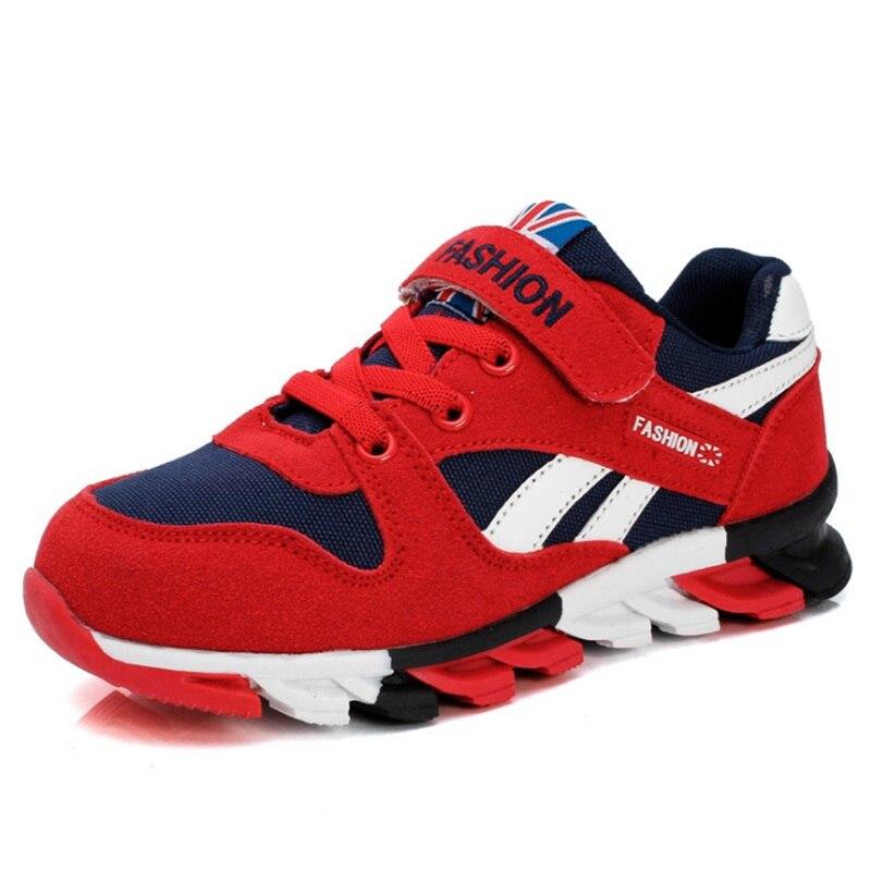 Frühling Herbst Jungen Turnschuhe Kinder Schuhe Leinwand Künstlich Hergestellte Suede Kinder Schuhe Mode Sport Schuhe