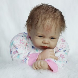 Image 5 - OtardDolls Boneca Tái Sinh 22Inch Silicone Mềm Vincy Búp Bê 55Cm Mềm Dẻo Silicone Búp Bê Em Bé Mới Sinh Sống Động Như Thật Bebe tái Sinh Búp Bê