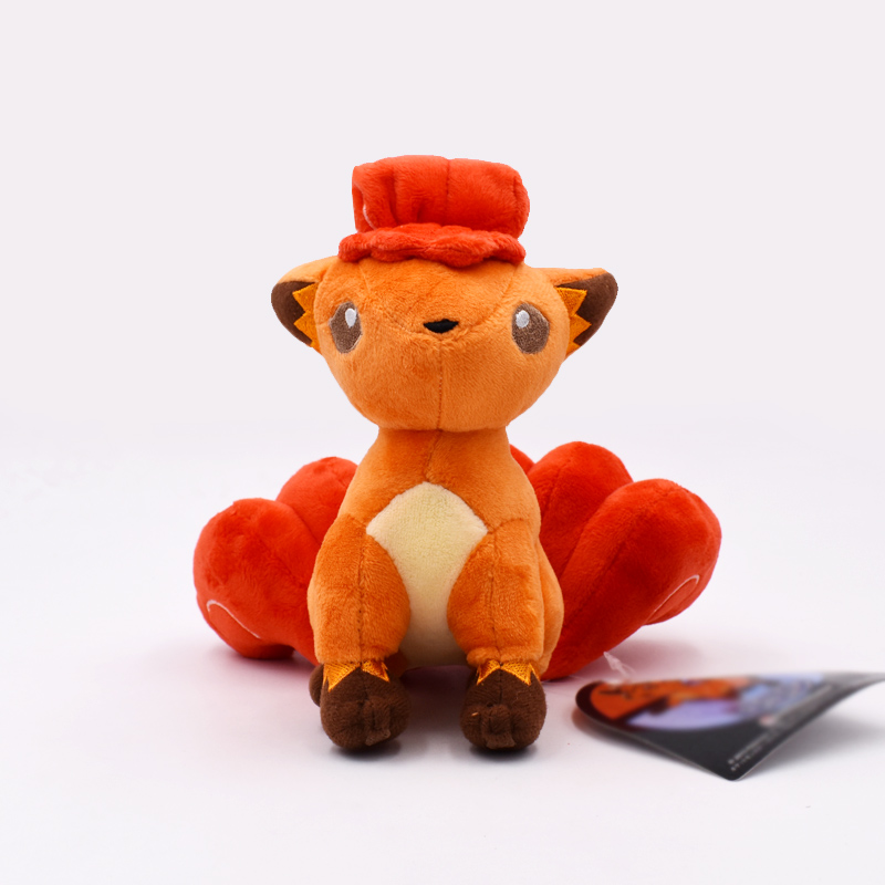 16cm New Doll Plush Vulpix Plush Toy Stuffed Doll Soft Baby Toy Gift Free Shipping