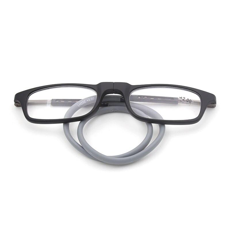 LH232 Optische Lesebrille Brillen Rahmen für Männer und Frauen Flexible TR-90 Vollrand Lesebrille Rezept Brillen