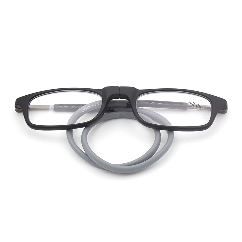 LH232 lectura óptica gafas marco para hombres y mujeres flexibles TR-90 lectura borde completo gafas de prescripción