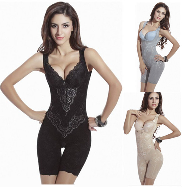 23fbd8eb908a Aliexpress.com : Buy Women Sexy Corset Shaper Magic Slimming Bodysuits  Building Underwear Ladies Shapewear Slimming Suits Pants Legs Body Shaping  from ...
