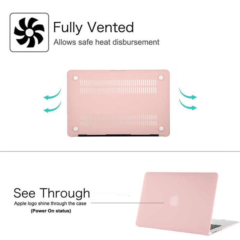 MOSISO Case For Apple Macbook Air 11 13 inch A1932/A1466/A1369 Matte Laptop Case Coque for Mac Air 11 A1370/A1465+Keyboard Cover