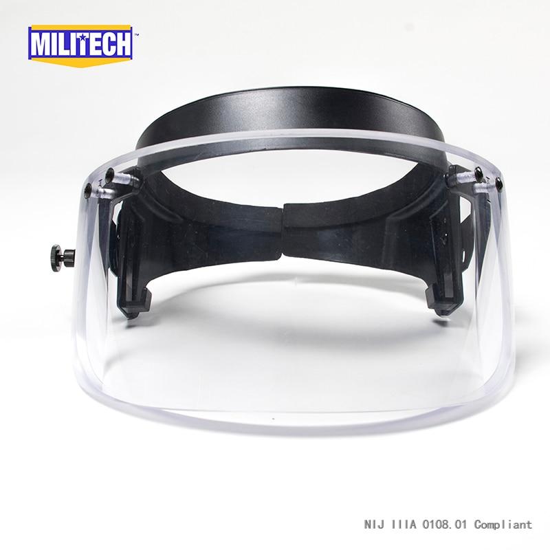חסין כדורים בליסטיים, מגן מגן על PASGT ACH מהר קסדה עם תקן טבעת/ הוכחה תבליט מגן שומר / מסכת מיש הקסדה