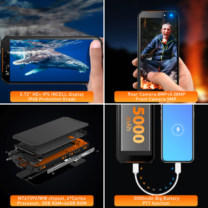 Image 5 - Leagoo teléfono inteligente XRover C, teléfono móvil con identificación facial 4G, pantalla IPS de 5,72 pulgadas, batería de 5000mAh, 2GB RAM, 16GB rom, cámara traseras dobles de 13,0mp, NFC, OTG