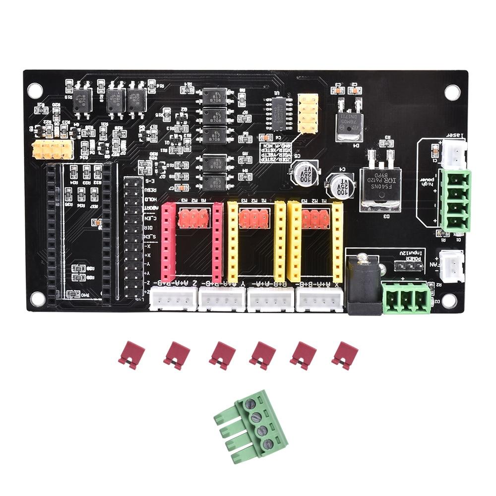 CNC 3 Achsen Gravur Elektronische Control Panel A4988 Schrittmotor Fahrer Nano Controller Motherboard Für Laser Gravieren Maschine