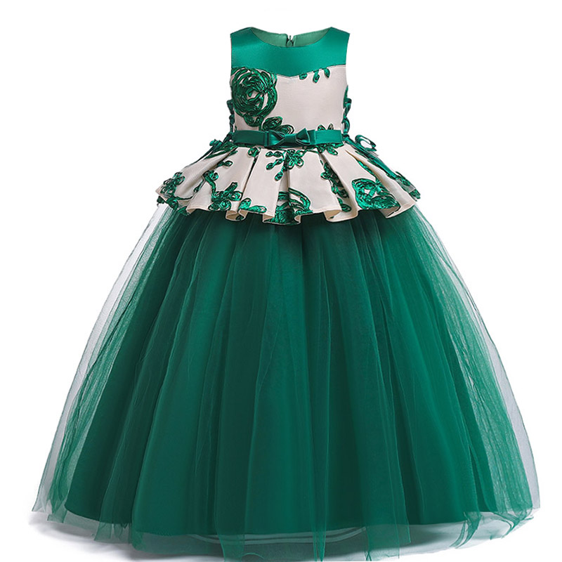 Pageant Dresses For Girls Ladies Clothing Party Girl Dress Wedding Girls Dress First Communion Princess Clothes Baby Costume