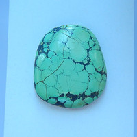 Natural Turquoise Cabochons 33x28x7mm 11 21g