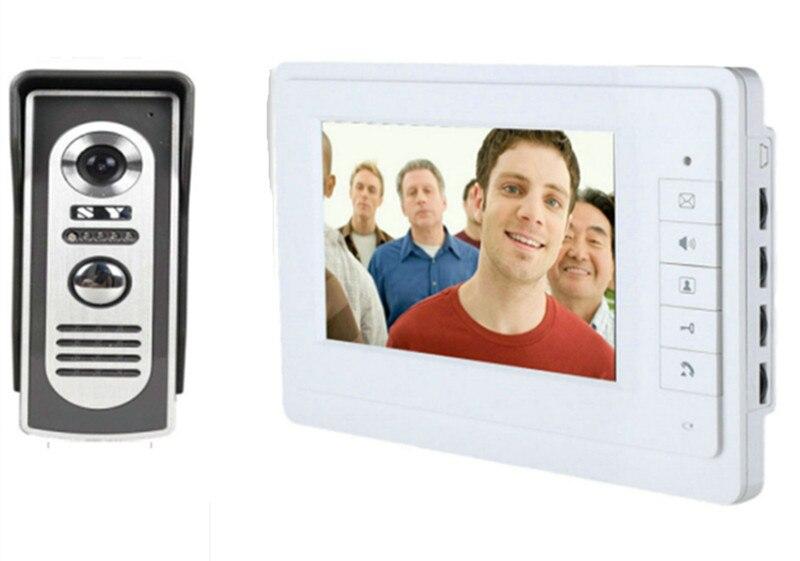 700TVL Zinc Alloy Camera 7 Inch TFT Monitor Video Door Phone 817-M