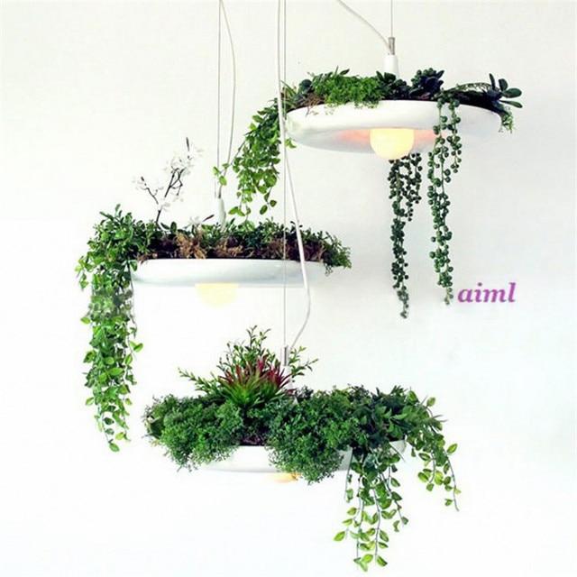 Inbegrepen Led lampen Planten hanglamp Potten Potplanten lamp licht ...