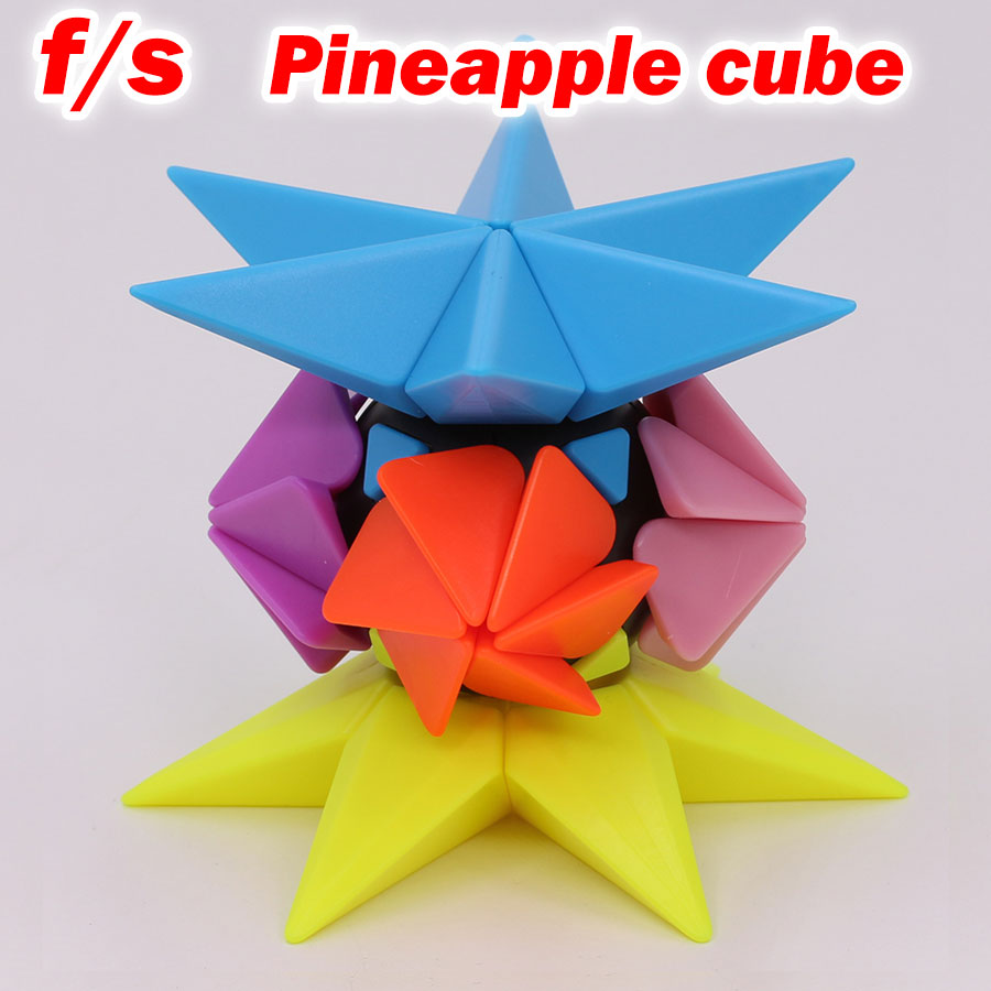 Purposeful Puzzle Magic Cube Fs Limcube 2x2x2 Pineapple Cube Strange Shape Special Twist Wisdom Professional Speed Cube Logic Game Toy Gift 2019 Official Puzzles & Games