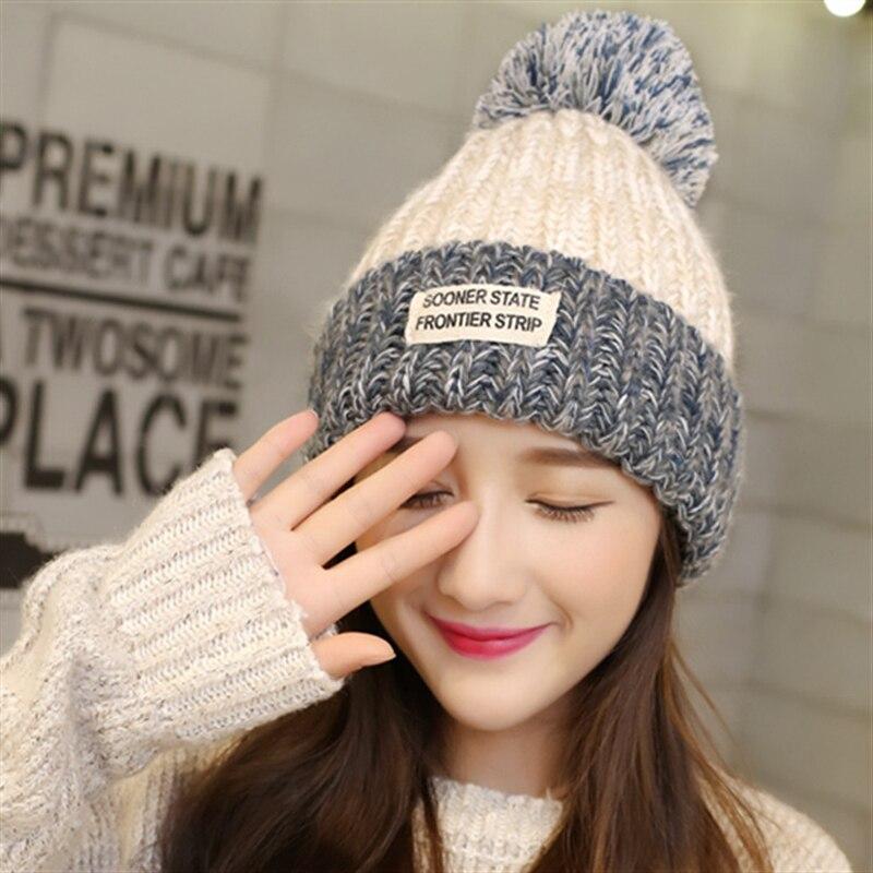 ୧ʕ ʔ୨2 unids 2017 primavera invierno sombreros para las mujeres ...
