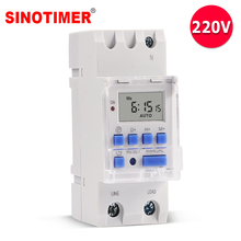 Heavy Load 5000W Digital Timer Switch Programmable 24hrs Automatic Switch for LED Lighting Loading ON/OFF