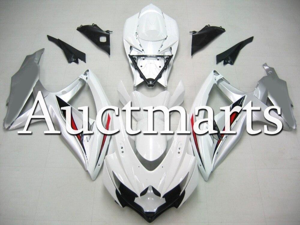 Fit for Suzuki GSX-R 750 2008 2009 2010 ABS Plastic motorcycle Fairing Kit Bodywork GSXR750 08 09 10 GSXR 750 GSX R750 CB39