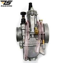 ZS-Racing 28 30 32 34mm Keihin OKO Carburador Koso PWK Vergaser Universal Para Motocicleta Scooter Motocross Con Chorros de energía